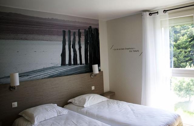 Chambre 2 lits élégance
