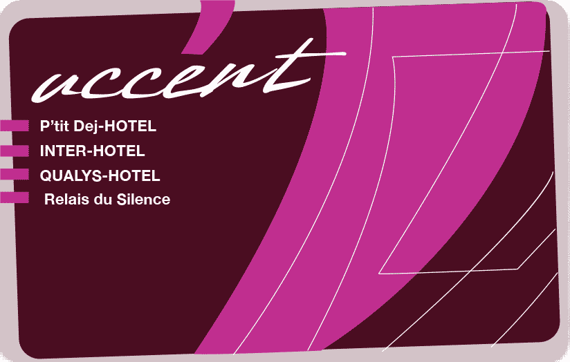 Carte Accent Inter-Hôtel