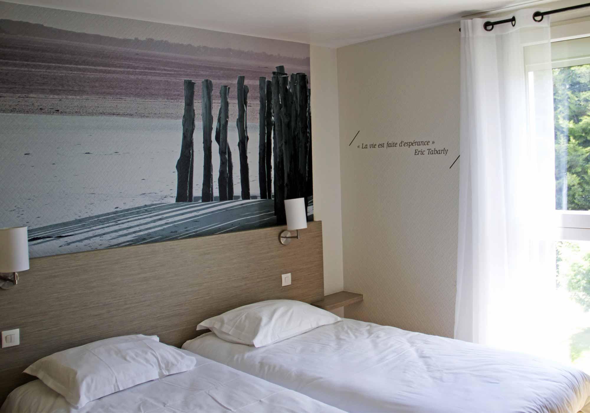 chambres h tel le ch ne vert. Black Bedroom Furniture Sets. Home Design Ideas