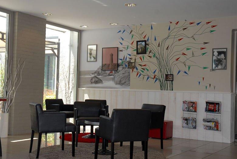 Lobby accueil