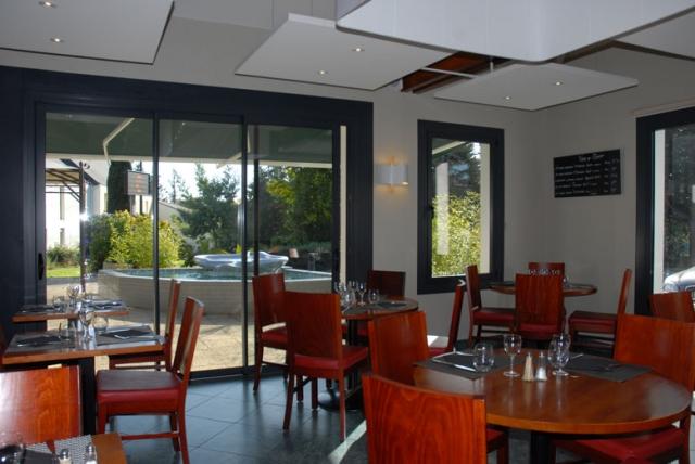 restaurant baies vitrées