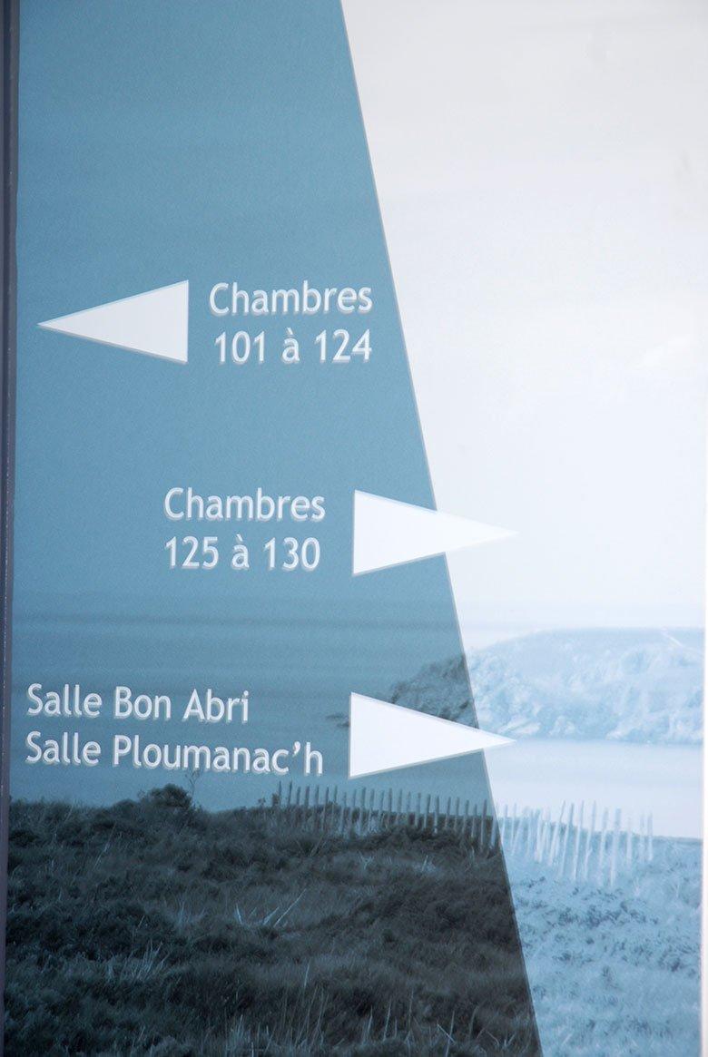 Signalétique élégance Bretagne